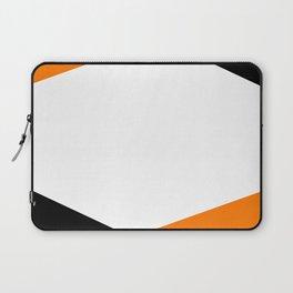 6 Sides Orange Laptop Sleeve