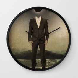 """""""Black and White""""  Wall Clock"""