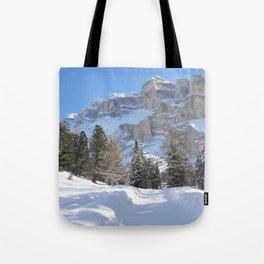 Mountain Dolomiti Tote Bag