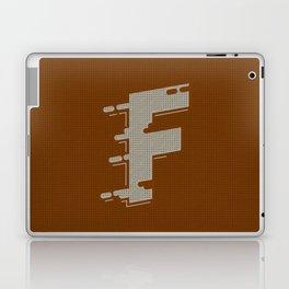 BOLD 'F' DROPCAP Laptop & iPad Skin