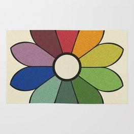 James Ward's Chromatic Circle (no background) Rug