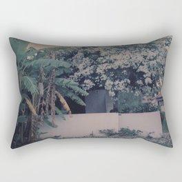 A house in the Summer Rectangular Pillow