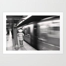 NYC Subway 2 Art Print