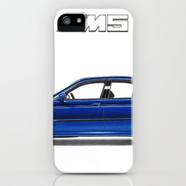 ICONIC GERMAN SPORTSCAR LIMOUSINE iPhone Case