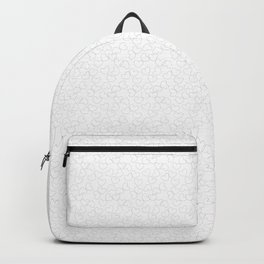 Heats and Hearts pattern (White) Backpack