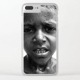 brazilian kid Clear iPhone Case