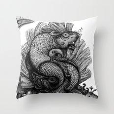 Fishkey Throw Pillow