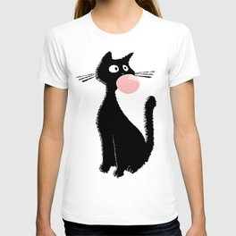 Bubblegum Kitty T-shirt