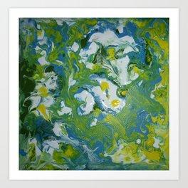 Swirls and Swirls Art Print