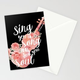 This Savage Song Stationery Cards