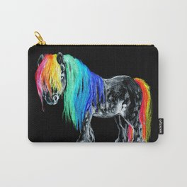 Rainbow Pony Carry-All Pouch