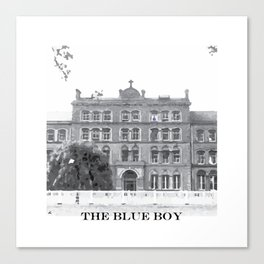 The Blue Boy Canvas Print