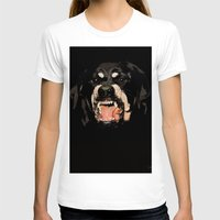 givenchy T-shirts featuring Givenchy Antigona Rottweiler Art Print by Le' + WK$amahoodT Boutique by Paynasa®