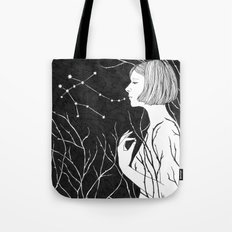 Under Stars Tote Bag