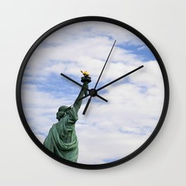 Proud Lady Liberty Wall Clock