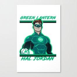 Green Lantern - Hal Jordan Canvas Print
