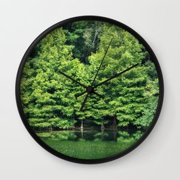 A Study in Green Wall Clock