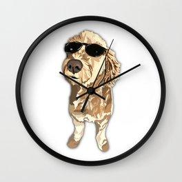 Rocker Doodle Wall Clock