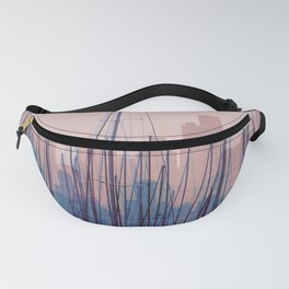 City Harbor Skyline Abstract Fanny Pack