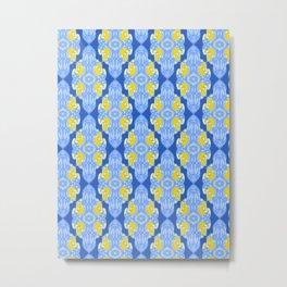 Patterns: Yellow Sages Metal Print