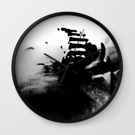 The Road of Excess Wall Clock