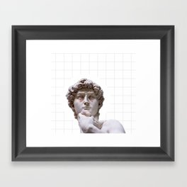 They Did It First Framed Art Print