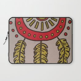 Feathers and sun Laptop Sleeve