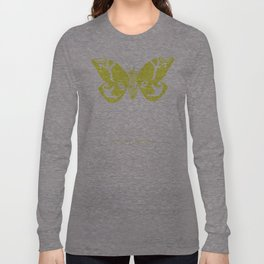 We Must Learn to Help Each Other -Mothra vs. Godzilla Long Sleeve T-shirt