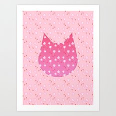 Meows in the Wind Art Print