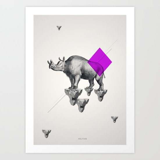Archetypes Series: Solitude Art Print