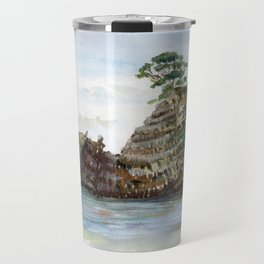 Whangapoua island , Coromandel peninsula , New Zealand Travel Mug
