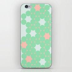 Teal Dot iPhone & iPod Skin