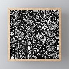PAISLEY Framed Mini Art Print