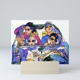 Last Dinosaurs - Eleven Mini Art Print