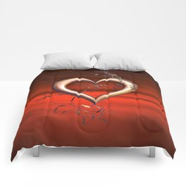 For the Love of Red Comforters