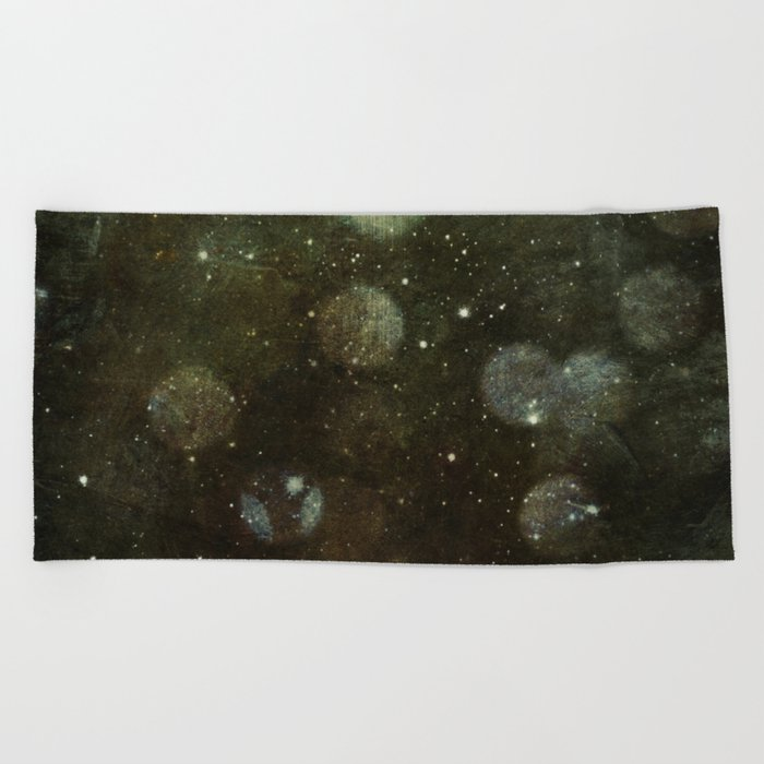 Desert Lights Beach Towel