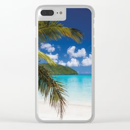 Island Time Clear iPhone Case