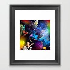 Ketamine Sky Framed Art Print