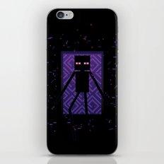 Here comes the Enderman! iPhone Skin