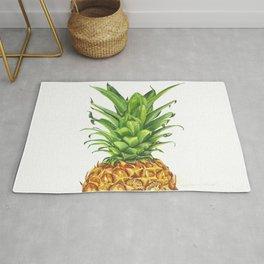 Watercolor Pineapple Rug