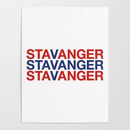 STAVANGER Poster