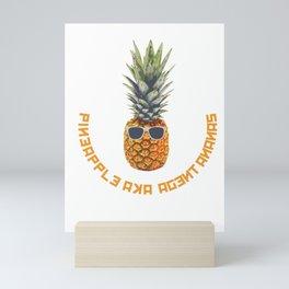 Pineapple aka Agent Ananas Mini Art Print