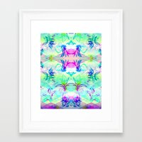 psych Framed Art Prints featuring 'Plant Psych' by Hannah Stouffer
