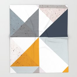 Modern Geometric 18/2 Throw Blanket