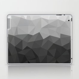 Low polygon monochromatic minimalism Laptop & iPad Skin