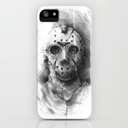 The Horror of Crystal Lake iPhone Case