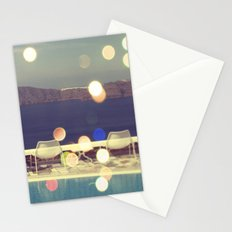 Santorini Sun Stationery Cards