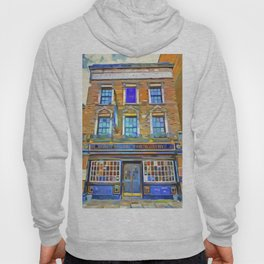The Prospect Of Whitby Pub Pop Art Hoody