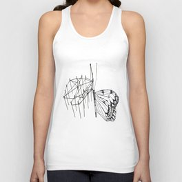 butterfly effect TWO Unisex Tank Top