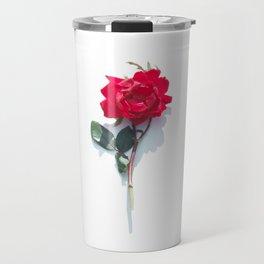 Singular Rose Travel Mug